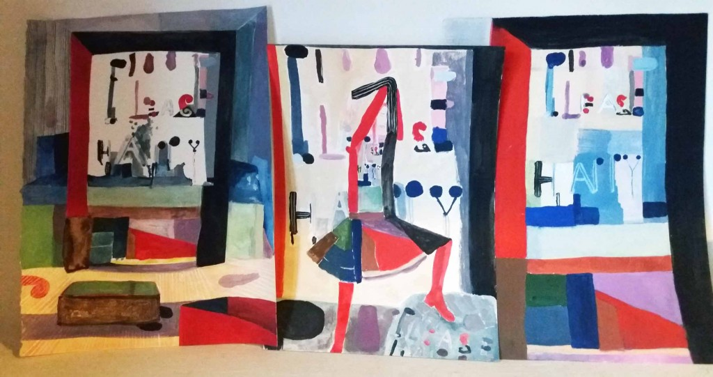 Geerten Ten Bosch, Banketje Textile & Drawings,                               ,