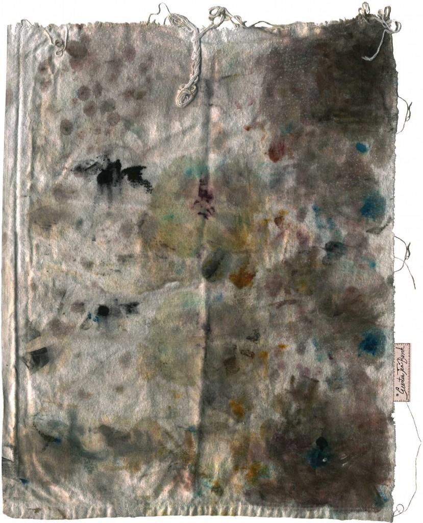 Geerten Ten Bosch, t afellaken en servetten,                               textielprint, tafellaken, servetten,