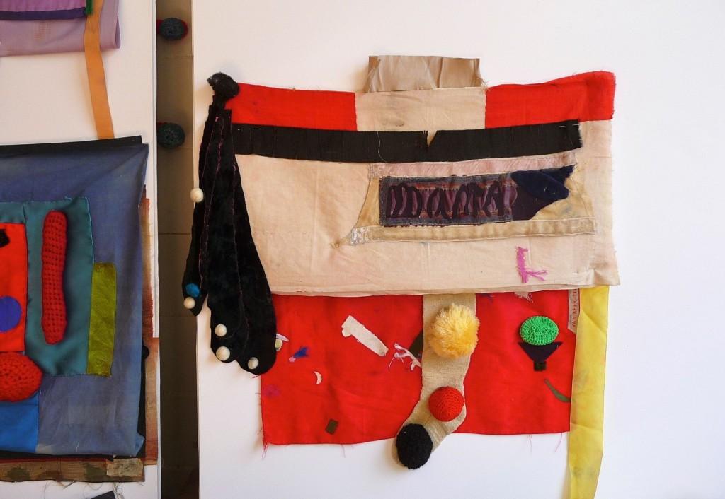 Geerten Ten Bosch, Banketje,                               , textiel, textile, art