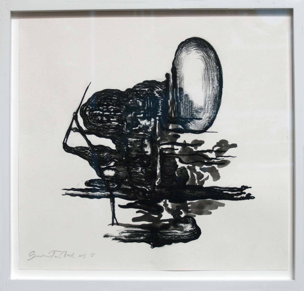 Geerten Ten Bosch, O, 'd'O' naar Zeeland,                               art, drawing, drawing, tekening, art, kunst