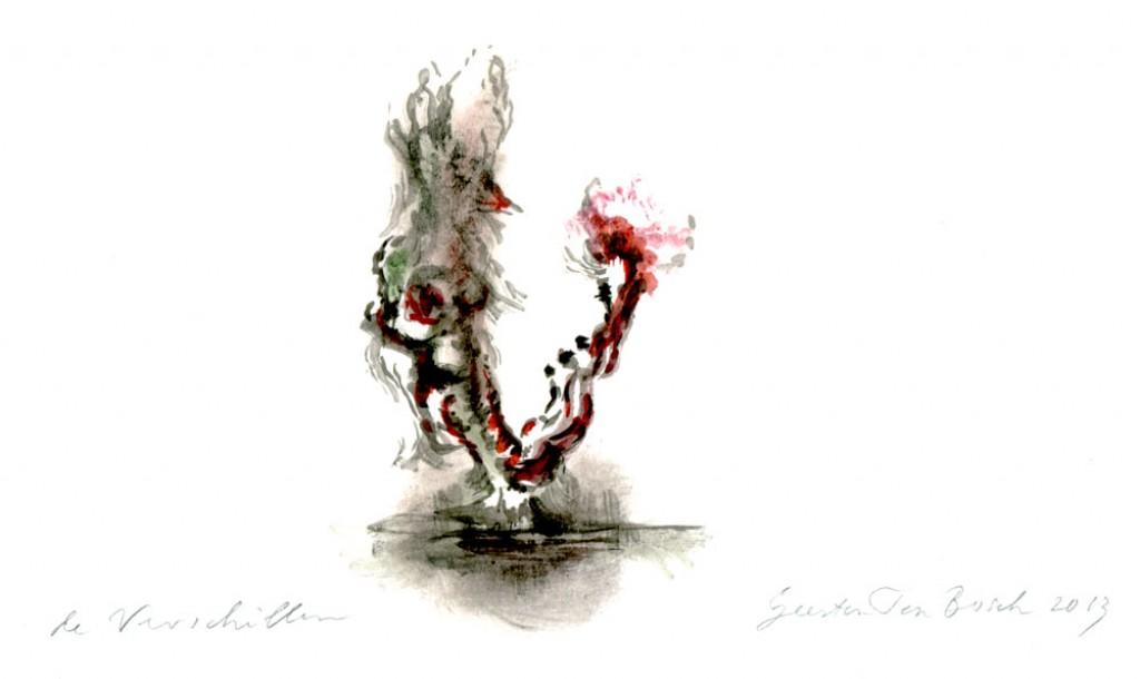 Geerten Ten Bosch, De Verschillen,                               , drawing, tekening, art, kunst, boek