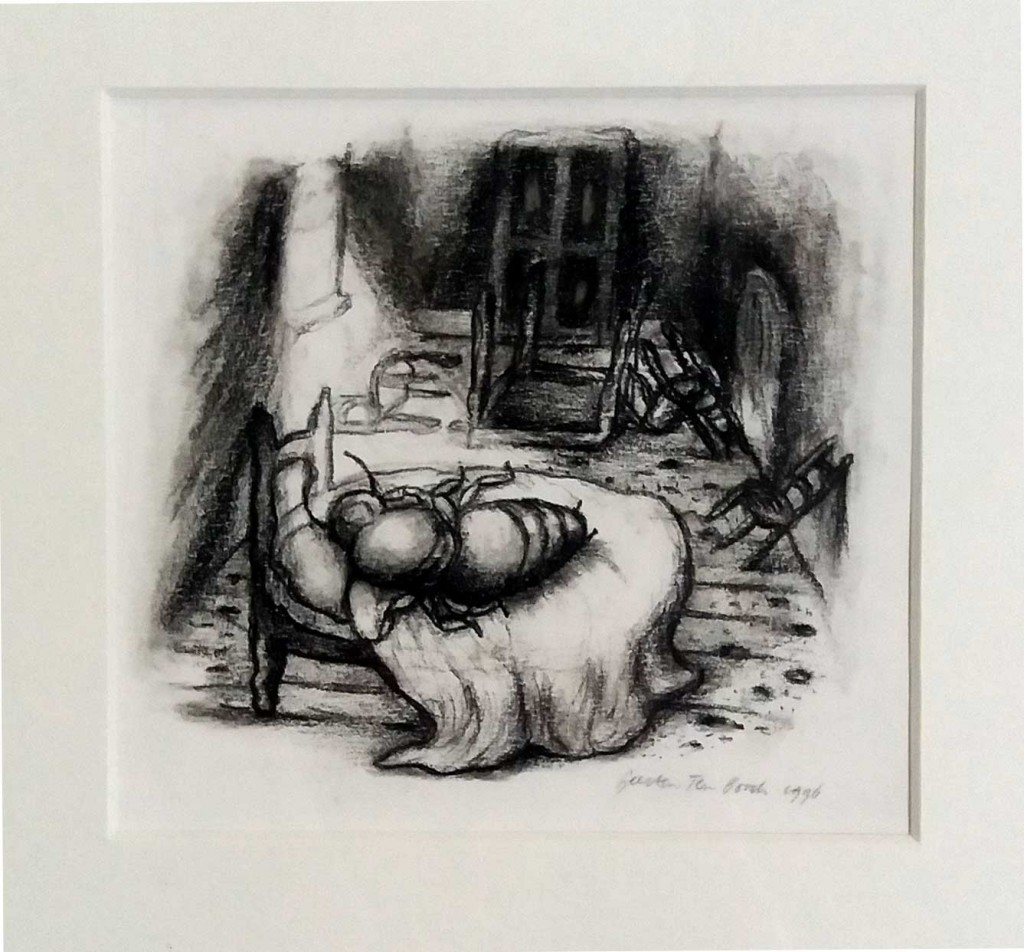 Geerten Ten Bosch, Toon Tellegen,                               illustration, Toon Tellegen, verjaardag,