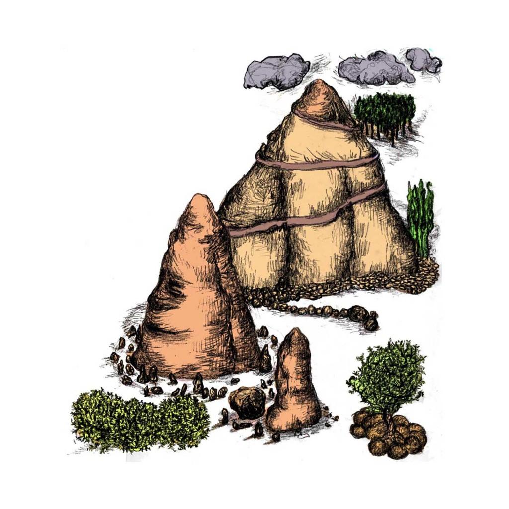Geerten Ten Bosch, sprookjes van de planeet aarde,                               illustraties boek,