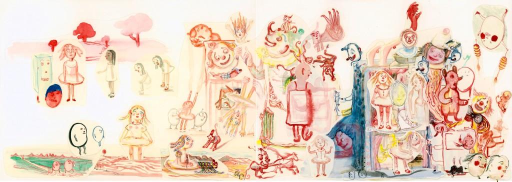 Geerten Ten Bosch, Banketje Book,                               , illustratie, illustration